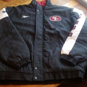 vintage Reebok 49'ers jacket